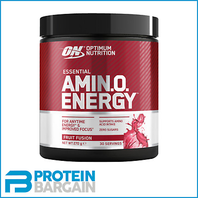 Optimum Nutrition Amino Energy 270g Essential Amino Acid Delivery ALL FLAVOURS!!