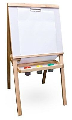 Sunbury children's / kids wooden artist easel 4 in 1, with paper - fold away!