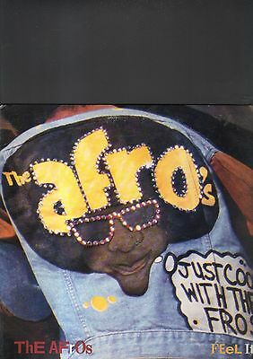 """THE AFRO'S - feel it EP 12"""""""