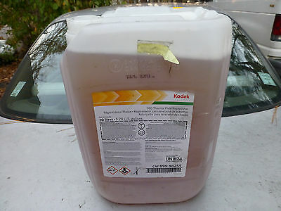 Kodak 980 thermal plate Replenisher Sword Excel 20L 5.28 gal Photo Processing