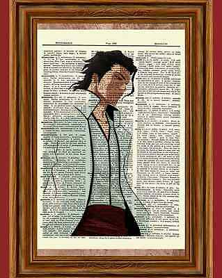 Aizen Bleach Dictionary Art Print Poster Picture Anime Manga Arrancar Las Noches