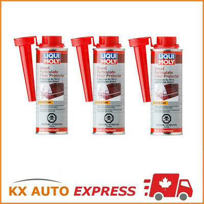 3x Liqui Moly Diesel Particulate Filter Protector 250ml LiquiMoly