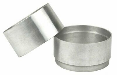 100mm Aluminum 2 Part Mold Rings For Delft Clay Peterobond Sand Casting