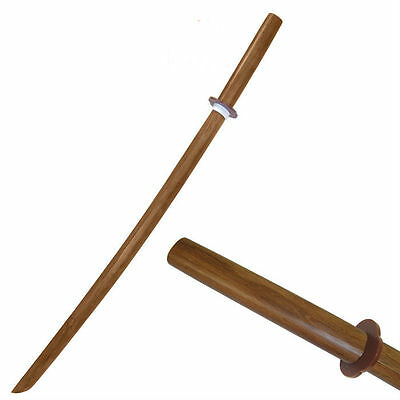 """39"""" Kendo Wooden Bokken This Is Perfect For Sparring Practice Sword W501WD *NEW*"""