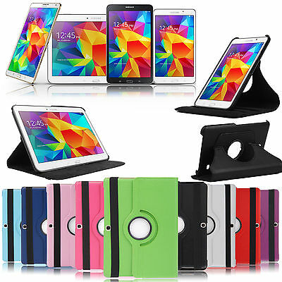 360° Degree Stand Case Samsung Galaxy Tab 3 4 S A 7.0 8.4 9.7 10.1 10.5 inch