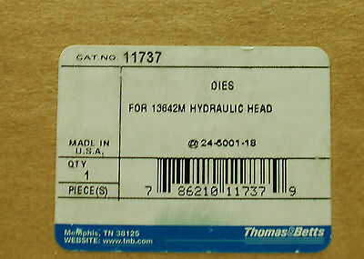 Thomas and Betts 11737 crimp die