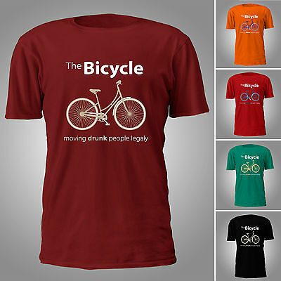 The Bicycle - Funy T-SHIRT
