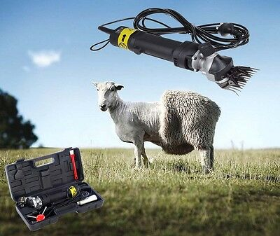 350W Electric Sheep Goat Clipper Shears Groomer Wool Shearing Farm Animal NEW