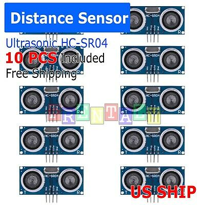 10X New Ultrasonic Module HC-SR04 Distance Transducer Sensor For Arduino Robot