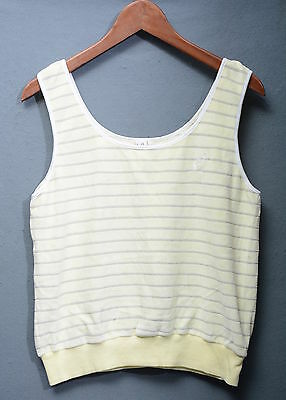 Australian Canotta Tanktop 80's Casual Vintage Tg 48  A793