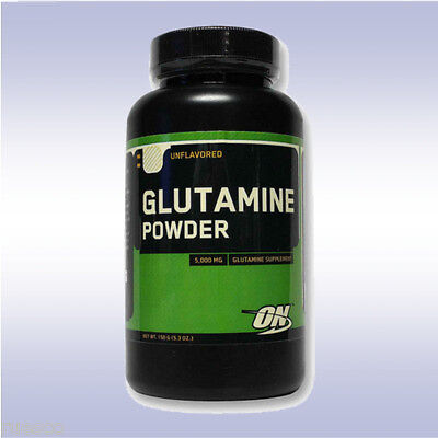 OPTIMUM NUTRITION GLUTAMINE POWDER (150 G) unflavored muscle recovery amino acid