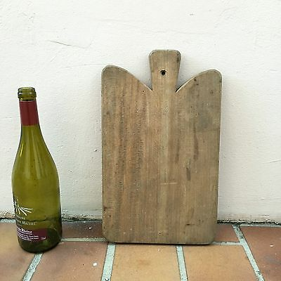 Antique Vintage French Bread Or Chopping Cutting Board  Wood 134