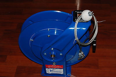 Ventaire ACR25R Heavy Duty Blue Metal Cable Reel For Sale!!!!