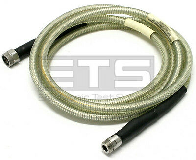 Times MicroWave SLA6-NMNF-03.00M Armored Test Port Coax Cable Male - Female 3m