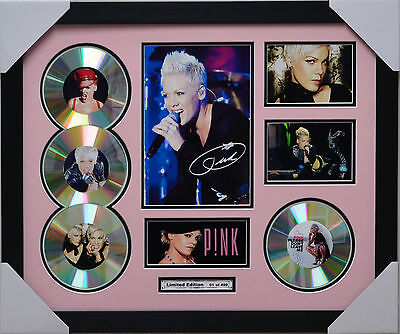 Pink 4Cd Memorabilia Signed Limited Edition P!nk