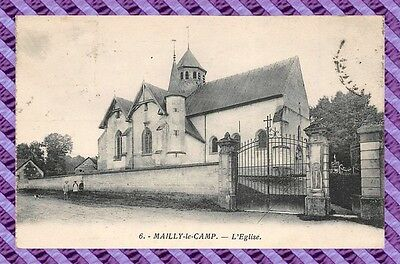 CPA 10 - MAILLY le CAMP - l'eglise