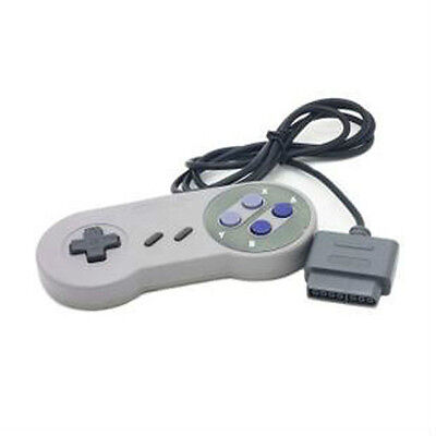16 Bit Controller Super Nintendo SNES System Video Game Console Control SFC Pad