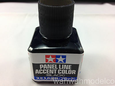 Tamiya 87131 Panel Line Accent Color (Black) - 40ml