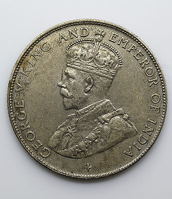 1921 Straits Settlements 50 Cents - George V - Lot 10