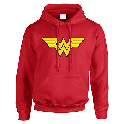 Wonder Women Childrens Hoodie, Hoody, Hooded Sweater Superhero Comic Books TS441