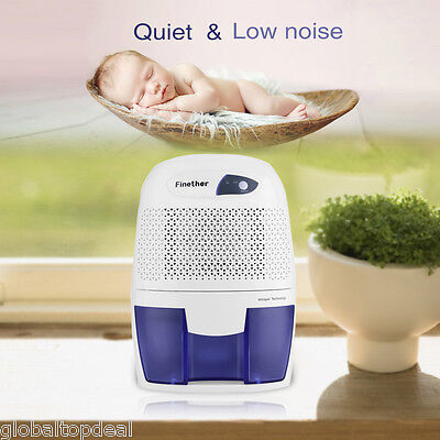 Mini 500ml Electric Dehumidifier Air Dryer Home Mould Drying Moisture Absorber