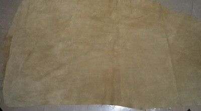 Cow Hide Leather sheet, Suede Leather Size more than 2 × 2 square foot approx