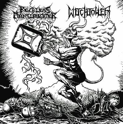 "RECKLESS MANSLAUGHTER / WITCHTOWER -split 7"" EP-"