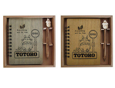 My Neighbour Totoro Notebook Anime Studio Ghibli Notepad Diary Journal Pen Gift