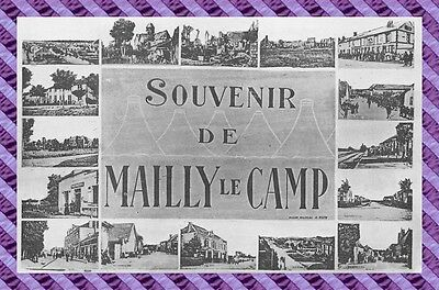 CPA 10 - MAILLY - souvenir de mailly le camp