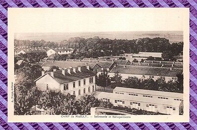 CPA 10 - MAILLY - infirmerie et baraquements