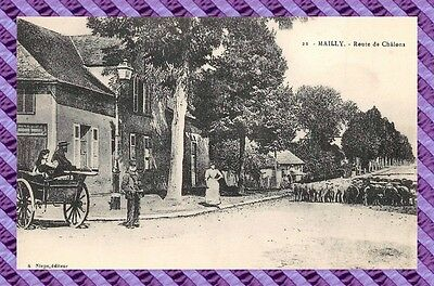 CPA 10 - MAILLY - Route de châlons