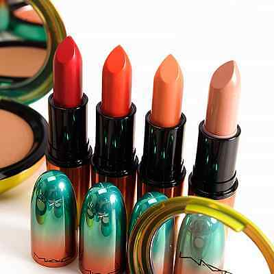 mac wash and dry collection lipsticks