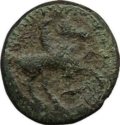 Philip II Alexander the Great Dad OLYMPIC GAMES Ancient Greek Coin Horse i39210
