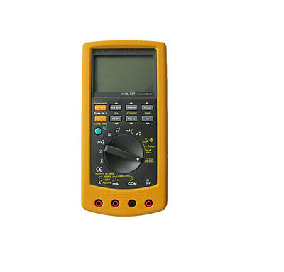 YHS-787 Digital Process Calibration Calibrator Multimeter Meter Tester