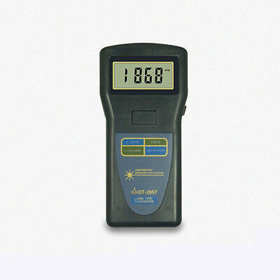 DT-2857 Digital Tachometer,Laser type,PHOTO CONTACT,2.5~99,999rpm