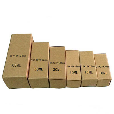 Kraft Paper Box For Gift Lipstick Perfume Essential Oil Cosmetics Cream Packing