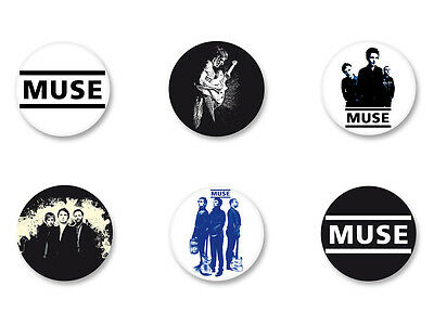 Lot Pack Badge Button Ø25mm Symbole Logo Muse Bellamy Rock UK