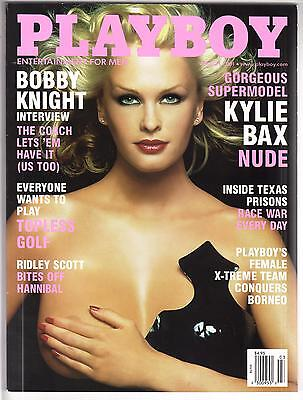 Playboy Magazine March 2001
