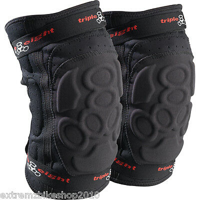 Triple Eight Exoskin Knee Pads - Triple 8 - All Sizes - New