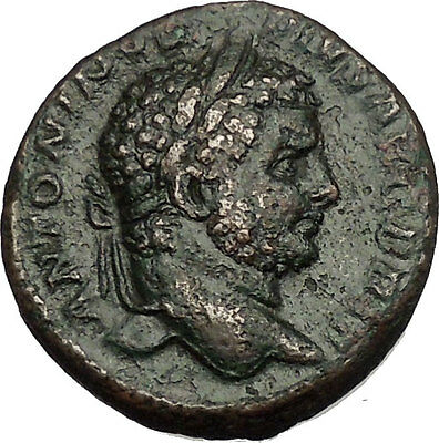 CARACALLA  214AD Large Rare Ancient Roman Coin Providentia Forethought i53021