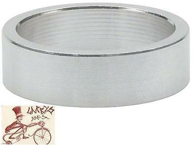 """Wheels Manufacturing 10Mm 1-1/8"""" Silver Spacers Bike Headset Part-Bag Of 5"""