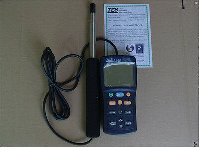TES-1340 Hot-Wire Thermo Anemometer Digital Anemometer TES1340
