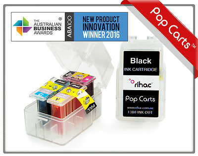 Rihac PG545 CL546 compatible Tri Cart refill Pop Cart inserts for Canon printers