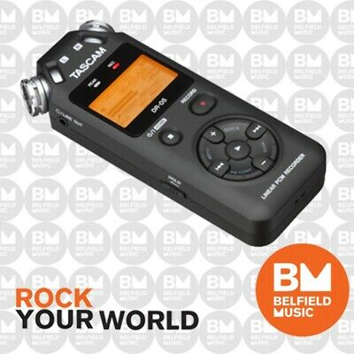 Tascam DR-05MK2 Portable Handheld Electronic Digital Recorder Hand Held DR05 MK2
