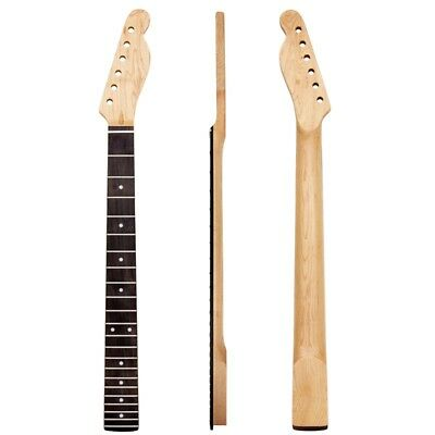 Matt Electric Guitar Neck 22 Frets Rosewood Fretboard For TL Replacement Parts