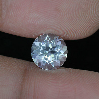 2.09 cts_Very Rare_Crystal White Hue_Natural_Pakistan_Round Cut_Scapolite_BC1582