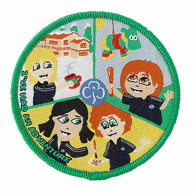 Guide  Ive Had An Adventure Badge 2 Designs International/camp 2 Designs Fun