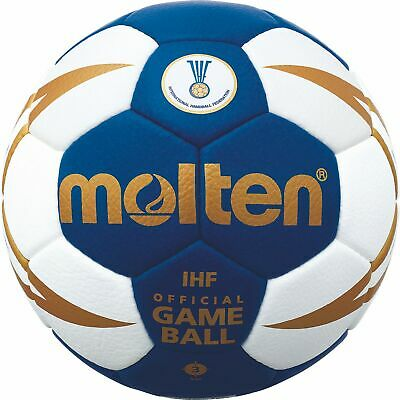 Molten Handball IHF Wettspielball Blau H3X5000-BW-X Gr. 3 Official Game Ball