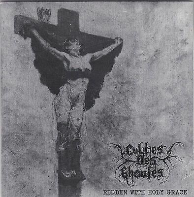 """CULTES DES GHOULES - ridden with holy grace / SZRON - The Black Prophecy 7"""""""