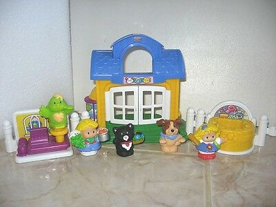 Little People Fisher Price Animalerie Toilettage